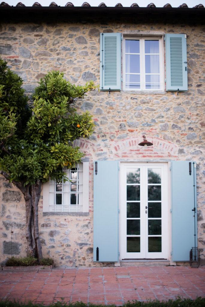 External facade of Le Molina B&B